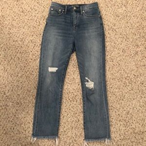 Madewell the perfect vintage jean in parnell wash